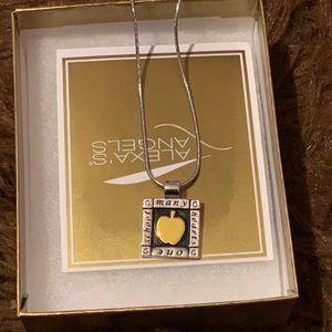 3/$25 Alexa's angels appreciation necklace